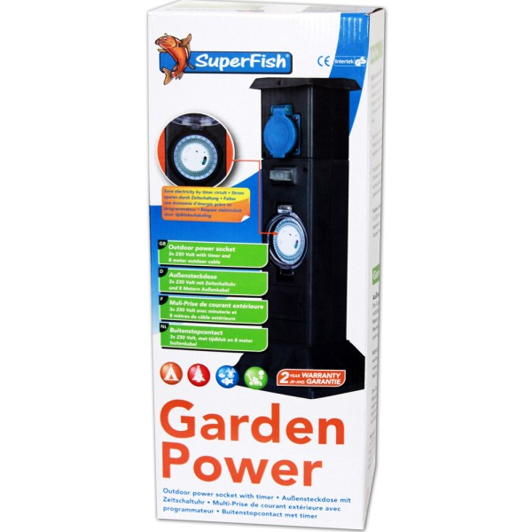 SUPERFISH Garden Power Gartensteckdose - 8715897225192 | © by teichfreund24.de