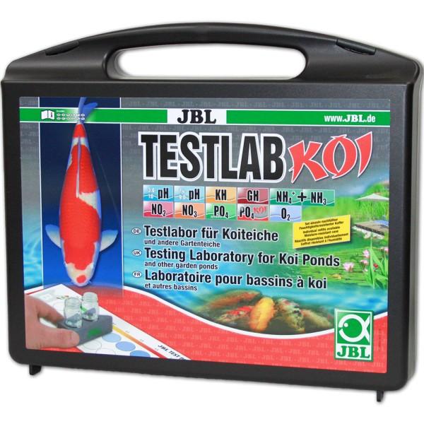 JBL Testlab Koi Wasseranalyse Testkoffer - 4014162280206 | © by teichfreund24.de