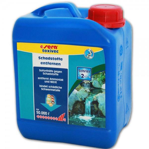 Sera Pond ToxiVec Wasseraufbereiter 2500ml - 4001942076838 | © by teichfreund24.de