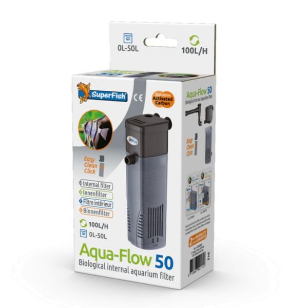 SuperFish Aqua-Flow 50 Aquarien-Innenfilter - 8715897041747 | by gartenteiche-fockenberg.de