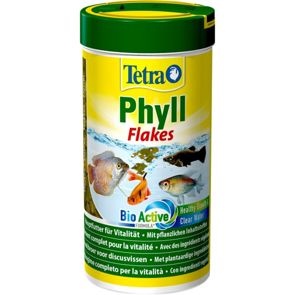 TETRA Phyll Flakes 250 ml Zierfischfutter - 4004218726581 | © by teichfreund24.de