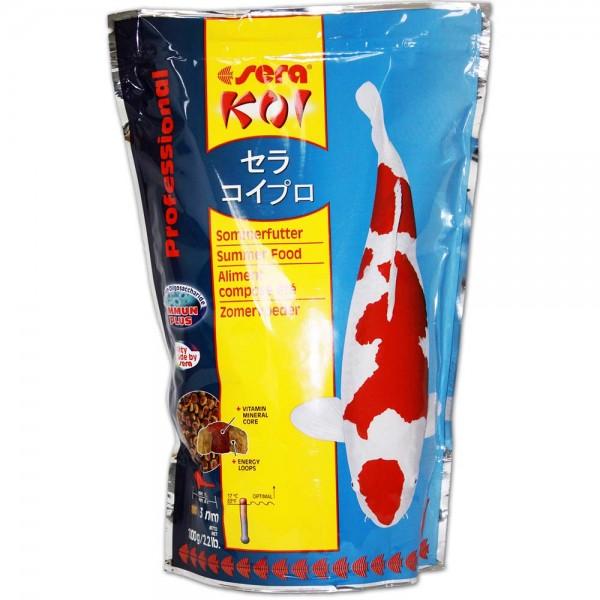 SERA Koi Professional Sommerfutter 1kg - 4001942070157 | © by teichfreund24.de