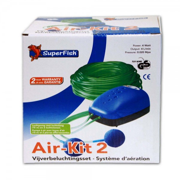 SuperFish Air Kit 2 Teichbelüfter - 8715897006890 | © by teichfreund24.de