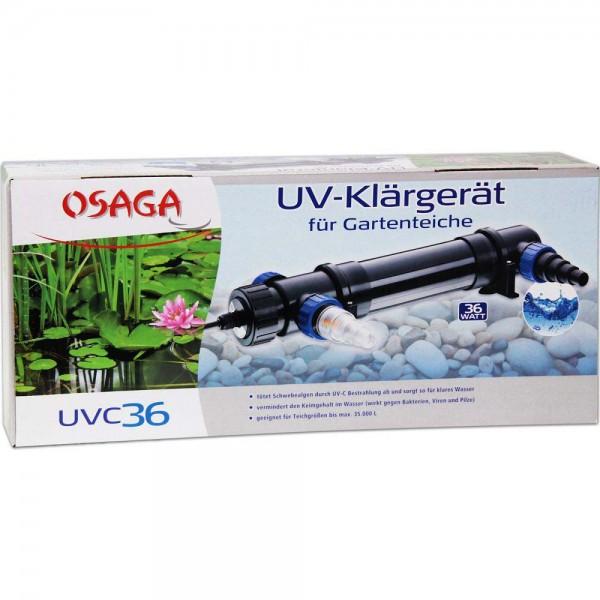 Osaga UV-Klärgerät UVC 36 - 4250247608859 | © by teichfreund24.de