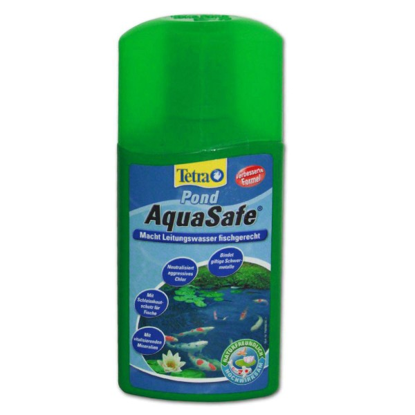 Tetra Pond AquaSafe Wasseraufbereiter 250ml - 4004218737716 | © by teichfreund24.de
