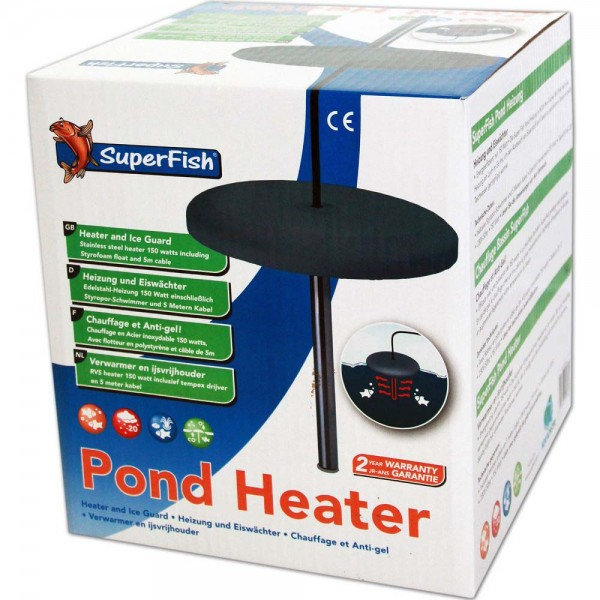 Superfish Pond Heater Eisfreihalter 150W - 8715897225789 | © by teichfreund24.de