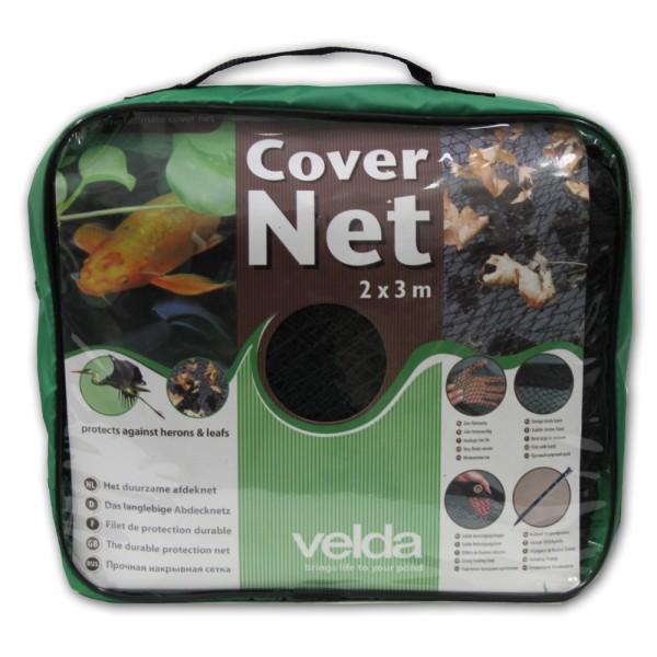 VELDA Cover Net Laubschutznetz 2x3m inkl. Erdspieße - 8711921248557 | © by teichfreund24.de