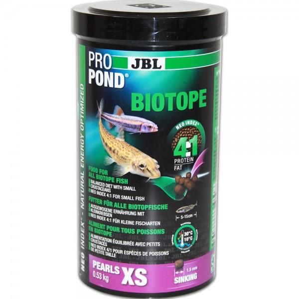 JBL ProPond Biotop Fischfutter XS 530g - 4014162413628 | © by teichfreund24.de