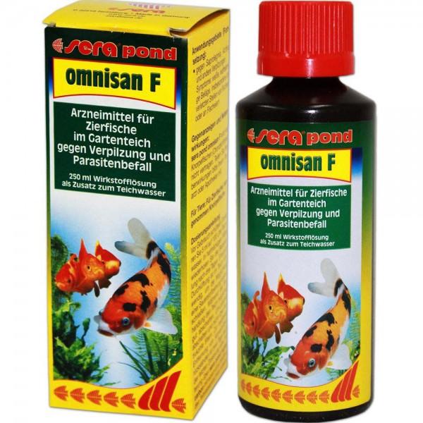 Sera Pond Omnisan F Fischmedizin 250ml - 4001942075503 | © by teichfreund24.de