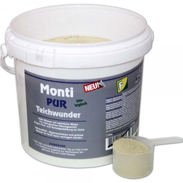 Teichoutlet® Monti-Pur Teichwunder Wasseraufbereiter 2kg | © by teichfreund24.de