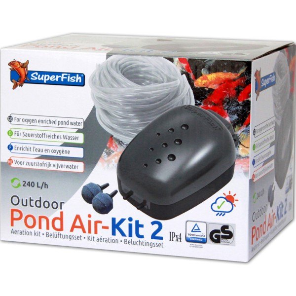 SuperFish Pond Air Kit 2 Teichbelüfter - 8715897033483 | © by teichfreund24.de