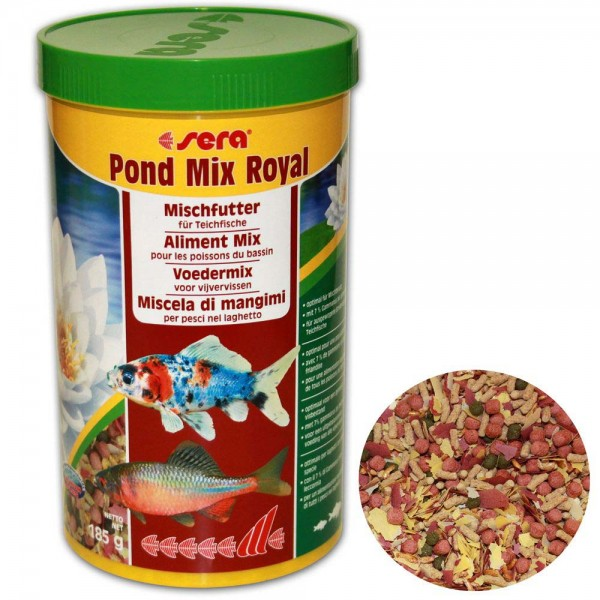 SERA Pond Mix Royal Fischfutter 185g - 4001942071000 | © by teichfreund24.de