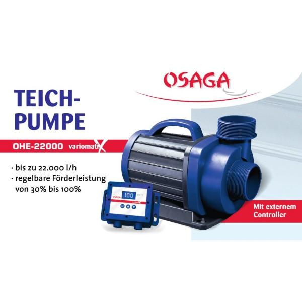 OSAGA OHE-22000 VX Variomatix Teichfilter- und Umwälzpumpe | by teichfreund24.de