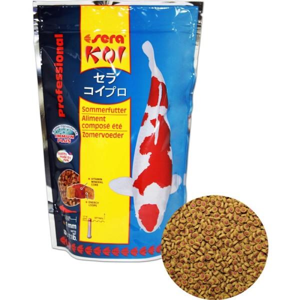SERA Koi Professional Sommerfutter 500g - 4001942070140 | © by teichfreund24.de