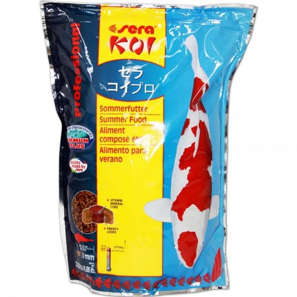 SERA Koi Professional Sommerfutter 2,2kg - 4001942070164 | © by teichfreund24.de