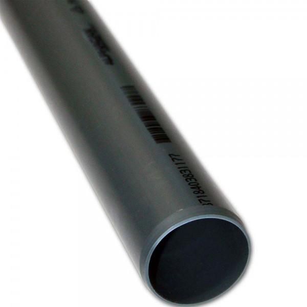 PVC-U Rohr 1,5m, Ø 50mm | © by teichfreund24.de