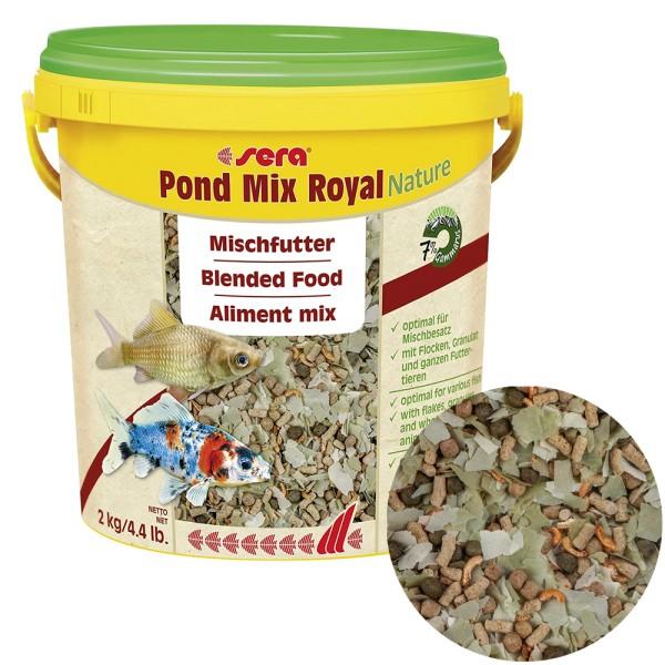 Sera Pond Mix Royal Nature Fischfutter 2kg - 4001942071079 | by teichfreund24.de