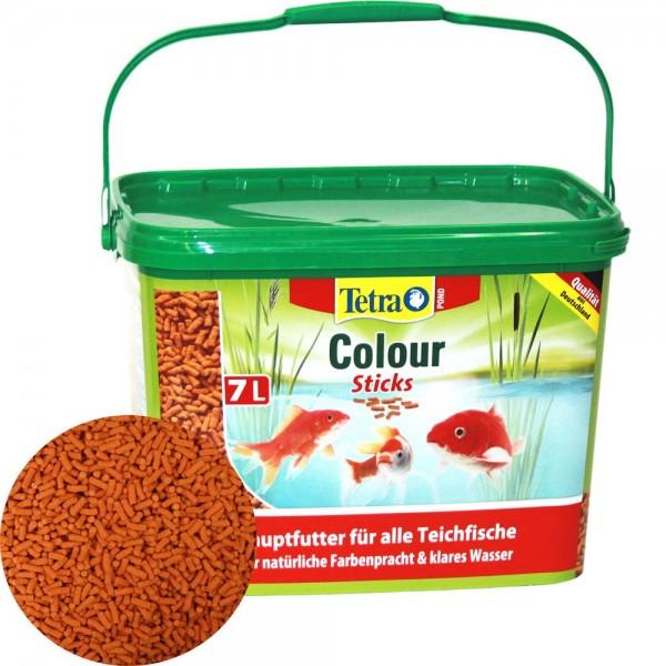 Tetra Pond Colour Sticks Farbfutter 7L - 4004218277304 | © by teichfreund24.de