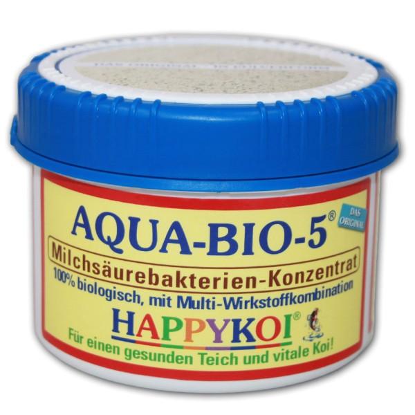 HAPPYKOI Aqua-Bio-5 Teichbakterien 500ml - 4260439780041 | © by teichfreund24.de
