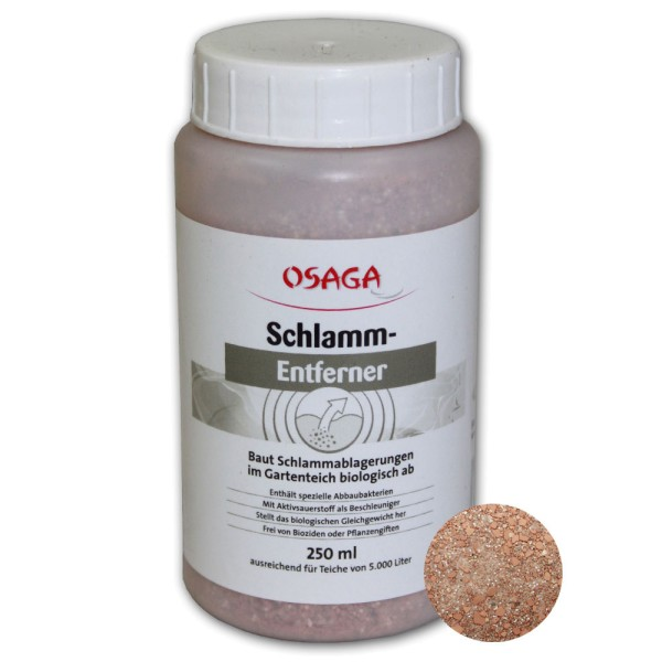 OSAGA Schlammentferner 250ml - 4250247609948 | © by teichfreund24.de