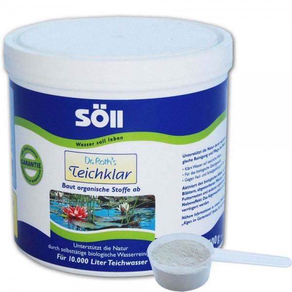 SÖLL Dr. Roth's Teichklar Teichschlammentferner 500g - 4021028100714 | © by teichfreund24.de