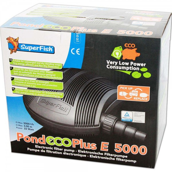 Superfish Pond ECO Plus E 5000 Teichpumpe - 8715897205842 | © by teichfreund24.de
