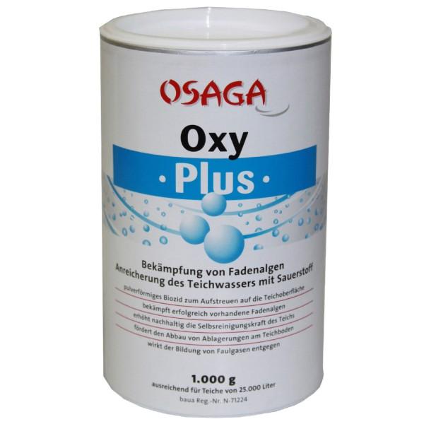 OSAGA Oxy Plus 1kg Wasseraufbereiter - 4250247610005 | © by teichfreund24.de