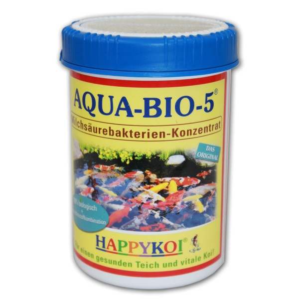 HAPPYKOI Aqua-Bio-5 Teichbakterien 1000ml - 4260439780058 | © by teichfreund24.de