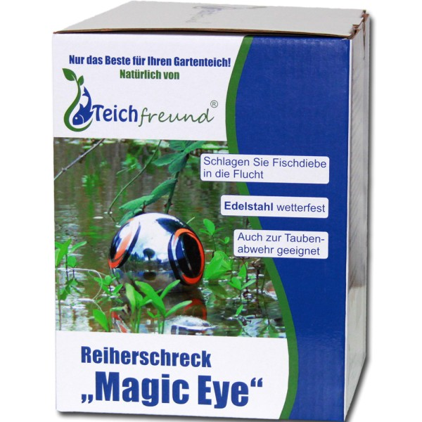 TEICHFREUND® Reiherschreck Magic Eye Teichschutz - 21173 | © by teichfreund24.de