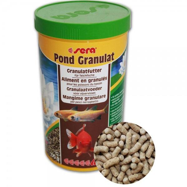 SERA Pond Granulat Fischfutter 170g - 4001942071703 | © by teichfreund24.de