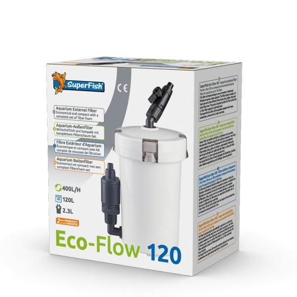 SuperFish Eco-Flow 120 Aquarien- Außenfilter - 8715897270956 | by teichfreund24.de