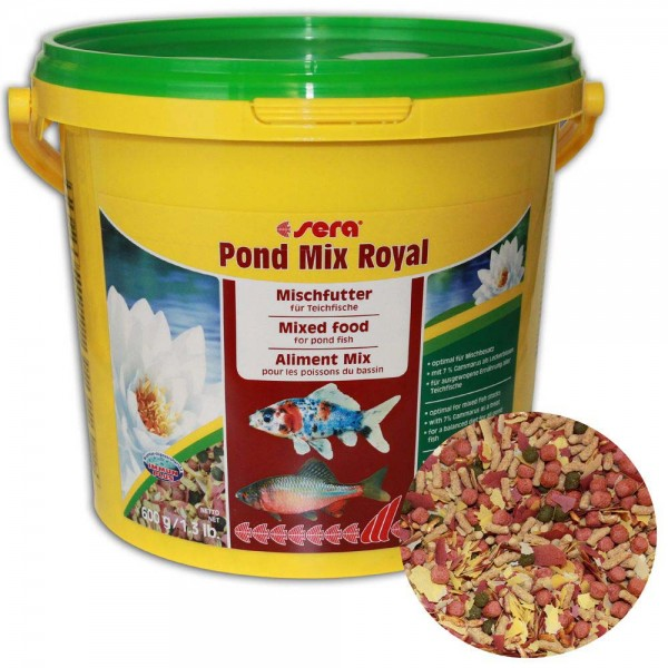 Sera Pond Mix Royal Fischfutter 600g - 4001942071024 | © by teichfreund24.de