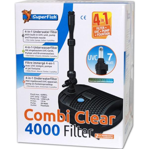Combi Clear 4000 Teichfilter+Pumpe+UVC von SuperFish - 8715897300028 | © by teichfreund24.de
