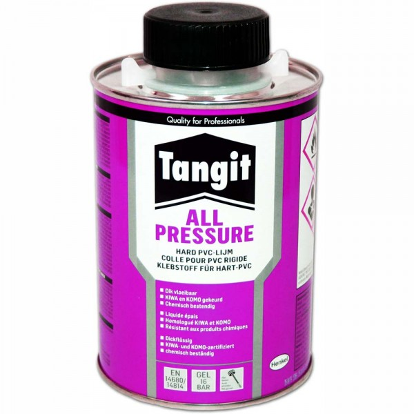 TANGIT All Pressure Hart-PVC-Kleber 500ml Dose - 4015000094955 | © by teichfreund24.de