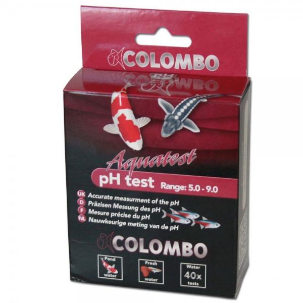 COLOMBO Aquatest pH Test Säuregehalt 5.0-9.0 Wasseranalyse 40 Stk. - 8715897030949 | © by teichfreund24.de