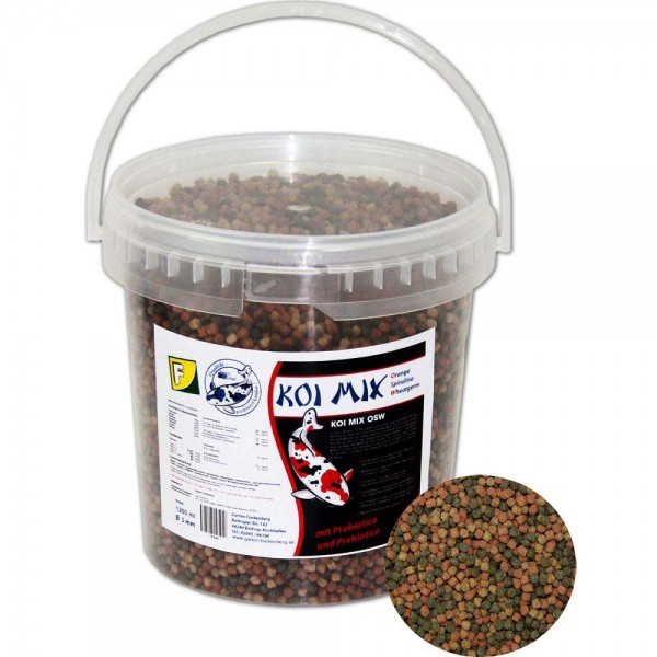 Teichoutlet® Koi Mix OSW Koifutter 500g Ø 3mm | © by teichfreund24.de