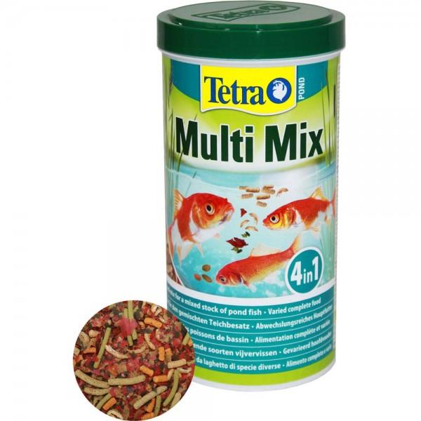 Tetra Pond Multi Mix Fischfutter 1L - 4004218748514 | © by teichfreund24.de