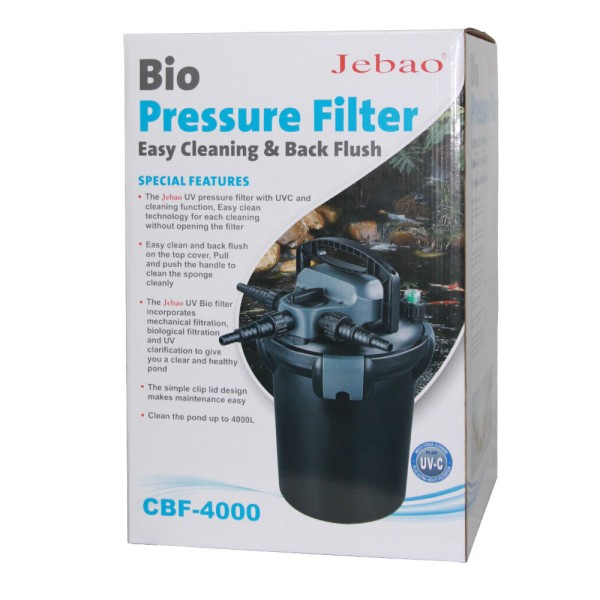 JEBAO CBF- 4000 Teichfilter | © by teichfreund24.de