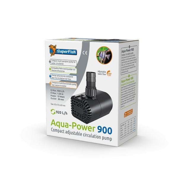 SuperFish Aqua Power 900 Zimmerbrunnenpumpe - 8715897305436 | by teichfreund24.de
