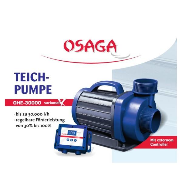 OSAGA OHE-30000 VX Variomatix Teichfilter- und Umwälzpumpe | by teichfreund24.de