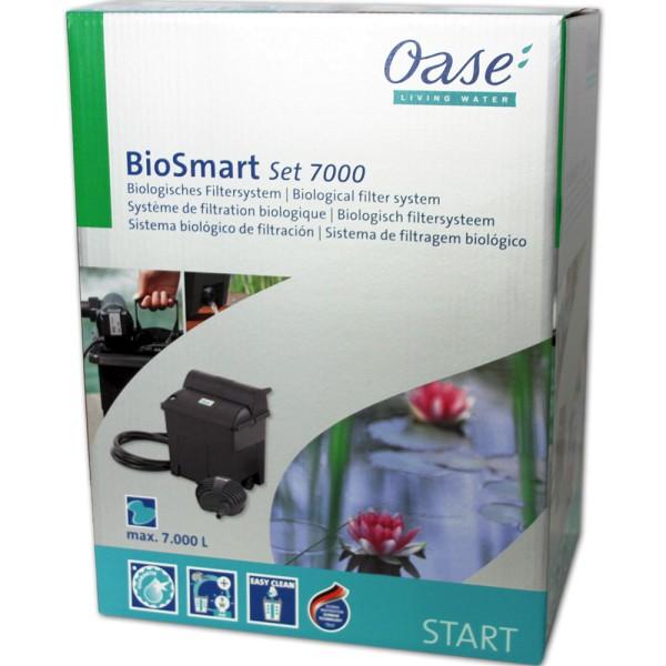OASE BioSmart 7000 SET Teichfilter+Pumpe+UVC - 4010052504490 | © by teichfreund24.de