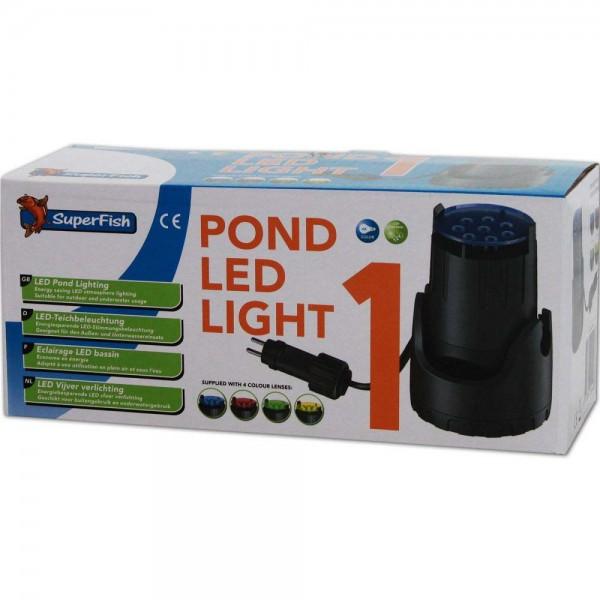 Superfish Pond LED Light 1 Teichbeleuchtung - 8715897244483 | © by teichfreund24.de