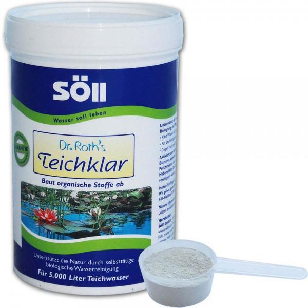 SÖLL Dr. Roth's Teichklar Teichschlammentferner 250g - 4021028100707 | © by teichfreund24.de