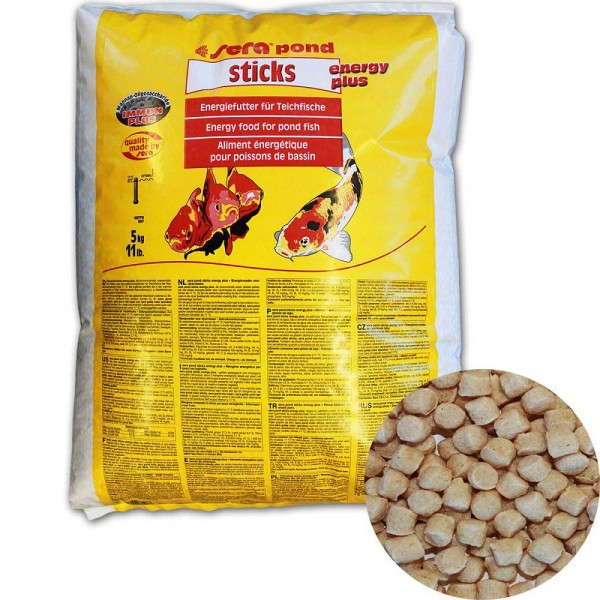 Sera Pond Sticks Energy Plus Fischfutter 5kg - 4001942071987 | © by teichfreund24.de