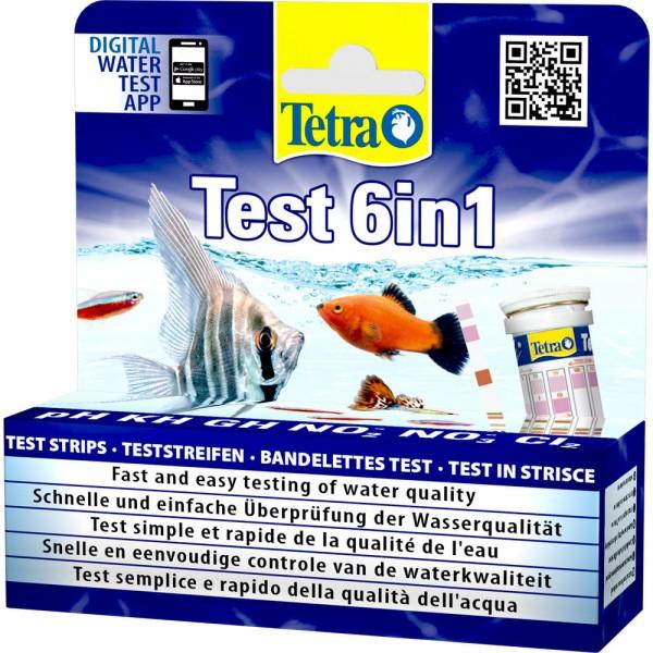 TETRA Test 6in1 Wasseranalyse 25 Stk. - 4004218175488 | © by teichfreund24.de