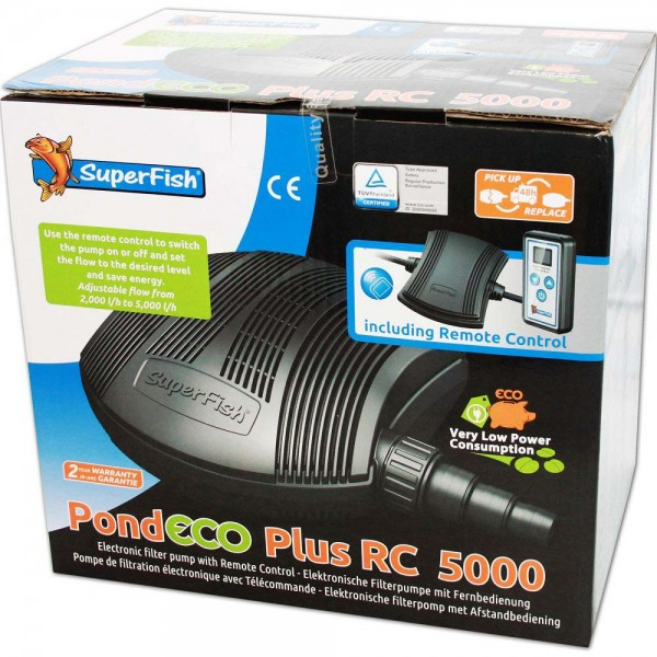 Superfish Pond ECO Plus RC 5000 Teichpumpe - 8715897269288 | © by teichfreund24.de