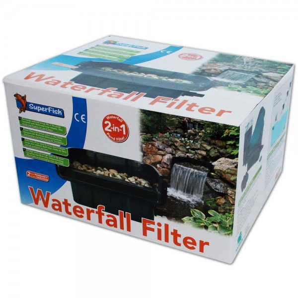 Superfish Waterfall Filter Set 2in1 - 8715897246562 | © by teichfreund24.de