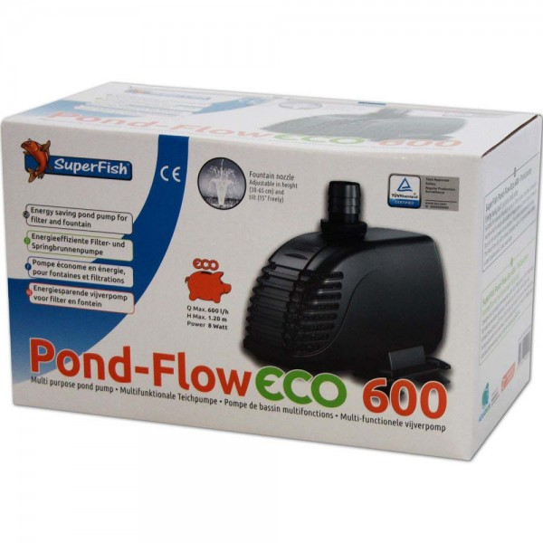 Superfish Pond Flow ECO 600 Teichpumpe - 8715897042553 | © by teichfreund24.de