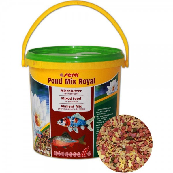 Sera Pond Mix Royal Fischfutter 2kg - 4001942071079 | © by teichfreund24.de
