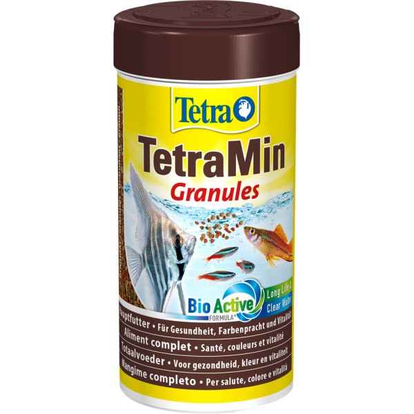 TETRA TetraMin Granules Fischfutter 100ml - 4004218135420 | by teichfreund24.de